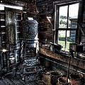 Old Ghost Town Stove - Molson Washington by Daniel Hagerman
