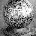 Old Globe In Black And White by Sophie Vigneault