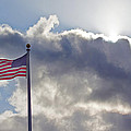 Old Glory In The Wind by Mick Anderson