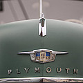 Old Green Plymouth by Steve Gravano