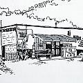 Old Grocery Store - W. Delray Beach Florida by Robert Birkenes