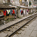Old Hanoi By The Tracks by Shaun Higson