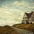 Old House On Rural Road by Jill Battaglia