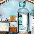 Old House Pisticci by Anne Parker