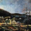 Old Houses In Mogimont by Pol Ledent