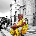 Old Indian Woman by Sumit Mehndiratta
