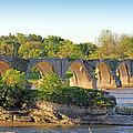 Old Interurban Bridge by Jack Schultz