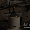 Old Items On A Stone Hearth 2 by Alan Look
