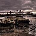 Old Jetty By The Bridge by Rob Hawkins