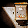Old Mailbox With Doorbell by Silvia Ganora