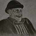 Old Man Laughing by Michael Brennan