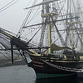 Old Massachusetts Sailing Ship by Susan Wyman