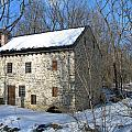 Old Mill On Winters Road by Sheila Rodgers