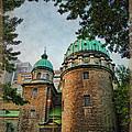 Old Montreal Church by Joan  Minchak