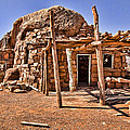 Old Navajo Stone House by Jon Berghoff