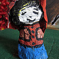 Old Newspaper Doll 07 by David Wei