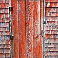 Old Orange Door  by Garry Gay