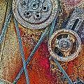 Old Pulleys by Floyd Hopper