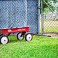 Old Radio Flyer Wagon by Ester  Rogers