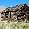 Old Ranch Hand Cabin by Kathy Sampson