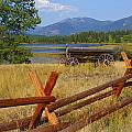 Old Ranch Wagon by Marty Koch