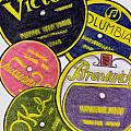 Old Record Labels by Mel Thompson