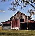 Old Red Barn  by Kathy Clark