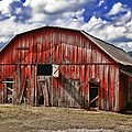 Old Red Barn by Renee Hardison