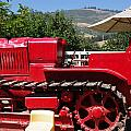 Old Red Tractor by Jeff Lowe