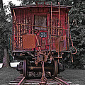 Old Red Train by Lori Coleman