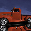 Old Red Truck by Judy Deist