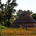 Old Round Barn by Edward Peterson