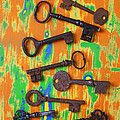 Old Rusty Keys by Garry Gay