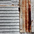 Old Rusty Sheet Metal by Terry Fleckney