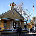 Old Sacramento California . Schoolhouse Museum . 7d11578 by Wingsdomain Art and Photography