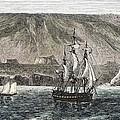 Old Sail Ships Galapagos Island Isabela by Paul D Stewart