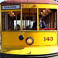 Old San Jose Railroads Cablecar Trolley 143 . San Jose California . 7d12963 by Wingsdomain Art and Photography