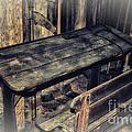 Old School Desk by Jutta Maria Pusl