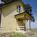 Old School House 2 Of 2 by Terri Winkler