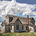 Old Schoolhouse - Ovid - Idaho by Gary Whitton
