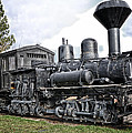 Old Shay Locomotive by Jonathan Abrams