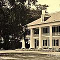 Old Southern Plantation by John Malone