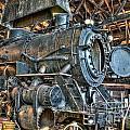 Old Steam Locomotive by Bob Niederriter