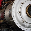 Old Steam Locomotive Engine 5 . The Little Buttercup . 7d12921 by Wingsdomain Art and Photography