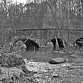 Old Stone Bridge Over The Unami Creek - Sumneytown Pa by Mother Nature
