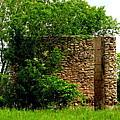 Old Stone Silo by Ms Judi