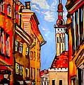Old Tallinn by Tatjana Andre