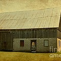 Old Textured Barn by Sophie Vigneault