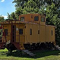Old Time Caboose by Tim McCullough