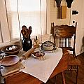 Old Time Kitchen Table by Carmen Del Valle